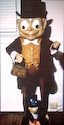 Schoenhut Brownie figure three feet high
