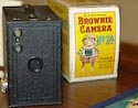 Brownie camera No. 2a and box