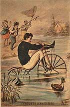 Velocipede card