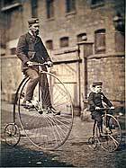 Shripton of Pickwick Cycle Club and his son