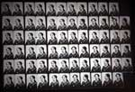 72 tintypes on one plate